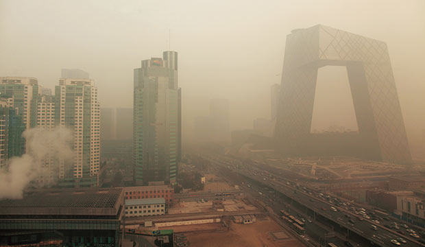 Haze in Beijing