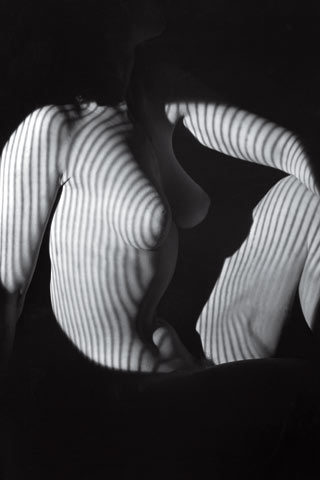 Artistic photo of woman's body